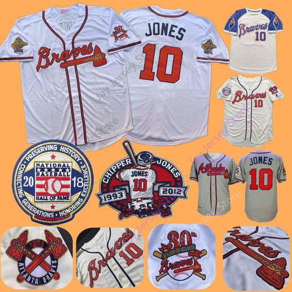 super popular db047 319bd 2019 Braves Chipper Jones Jersey 1995 WS World Series Atlanta Jerseys 2018  Hall Of Fame Flexbase Cool Base Cream White Grey Blue From Davidjersey, ...