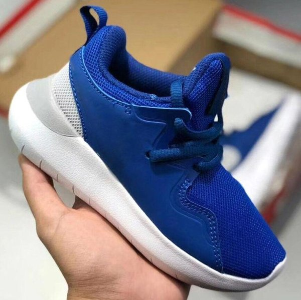Kids Shoes Original London Olympic Designated Running Shoes Triple Black White Children Sport classic fashion multicolor baby Sneakers