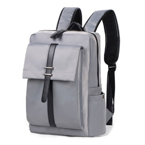 Men Business Laptop Backpack Water Resistant Slim Travel Bag for 14-Inch Laptop Fashion High-capacity Casual Computer Backpack