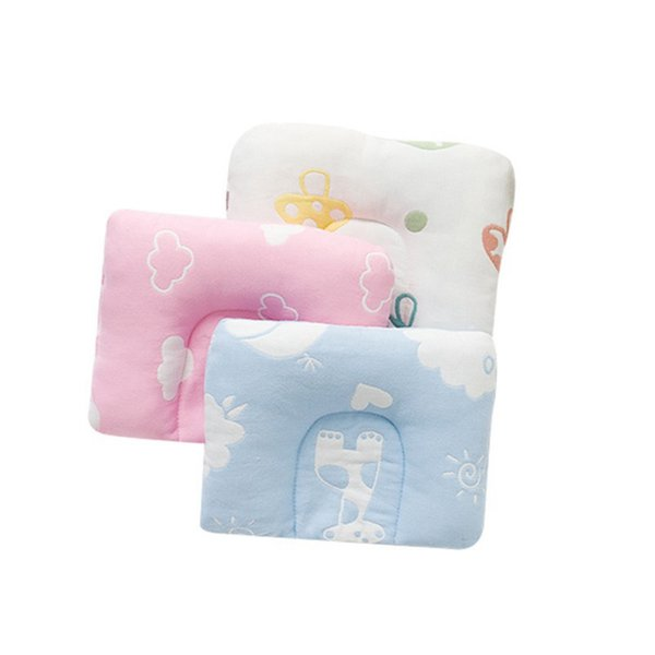 Baby Shaping Pillow Prevent Flat Head Infants Bedding Pillows For Baby Newborn Boy Girl Decorative Pillows hot 2019