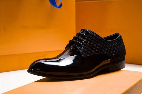 Dernières hommes en cuir mocassins Club Dressing Shoes, classique pour hommes plat avec boucle en métal
