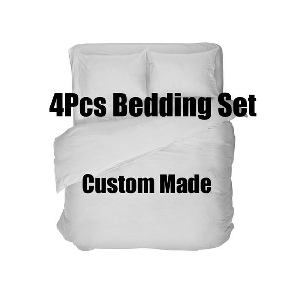 4pcs conjunto de cama
