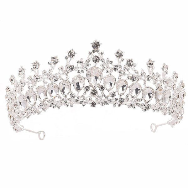 Silver White Crown