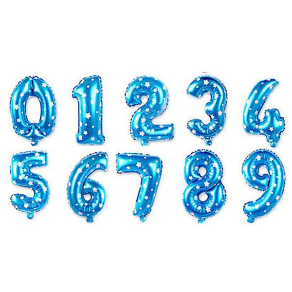 Random blue B number
