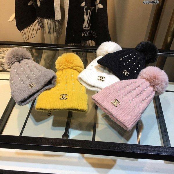 2019Designer winter Top quality Luxury MEN Womens knitting Hats casquette beanie hats bonnet de cappelli firmati caps L001