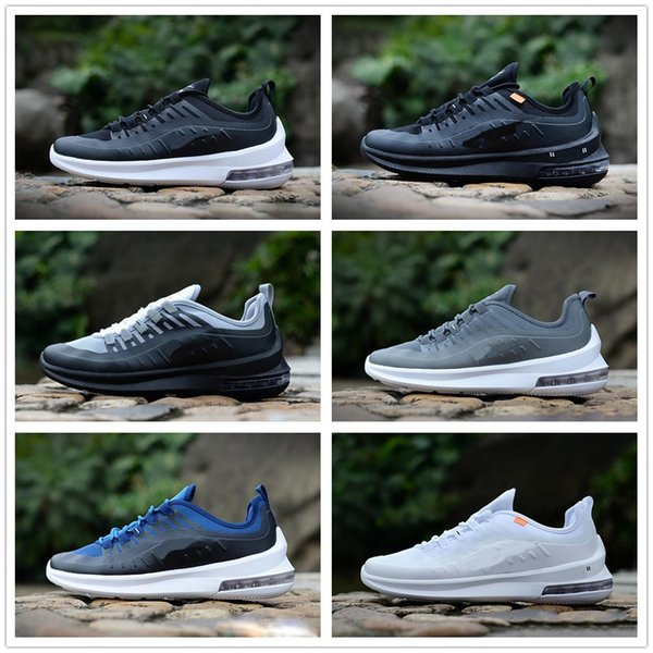 Designer Axis 98 Men Women Running Shoes Triple Black White Cool Grey Oreo Blue Olive Cheap Trainer Sport Sneaker Size 7-11 Free Shipping