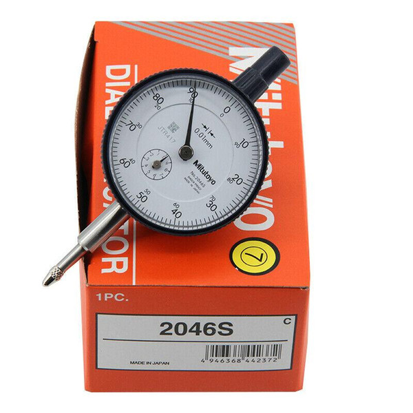 best selling Made in Japan Mitutoyo dial indicator explosion models genuine 0-10mm X 0.01mm Grad !! Brand new!!