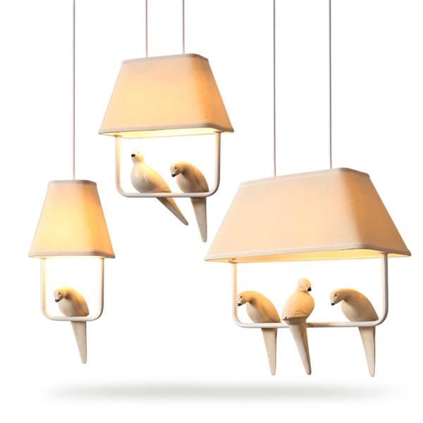 Cute kids chandelier chandeliers living room ceiling chandeliers fabric chandelier lighting bedroom LED lights decoration lamp
