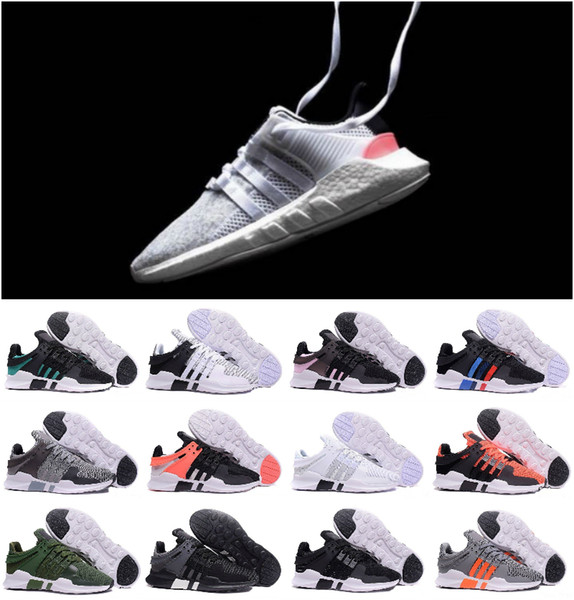 Top quality 2019 Ultra Boost EQT Support Future Boost 93 17 White black pink Men women sport shoes Sneakers ShOes Size 36-45