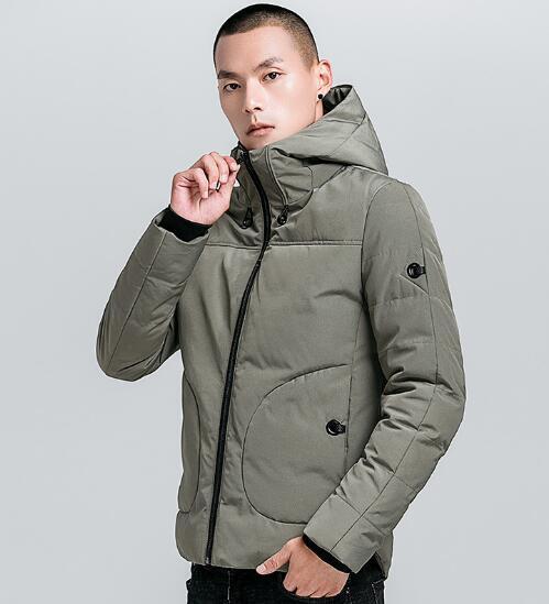 Einfarbig Luxus Herren Jacken Winter Designer Mäntel Langarm Mit Kapuze Trend Oberbekleidung Dicke Jugend Kleidung 3 Farben M-4XL