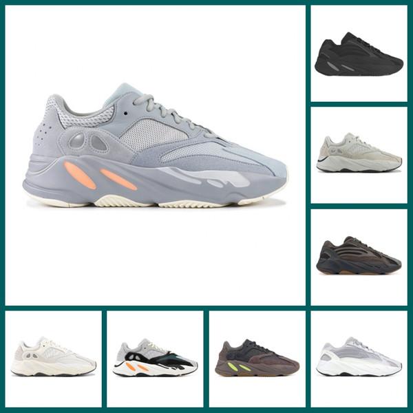 700 Onda Runner Malva Sapatos de Corrida de Inércia Kanye West Sapatos de Grife Estática Geode Vanta Sal Analógico Sneaker Esportes Tamanho 36-45