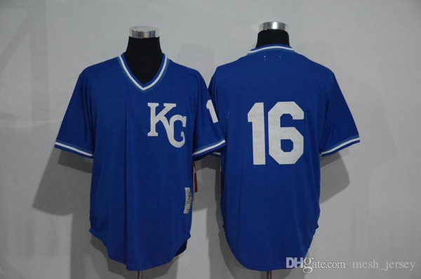 innovative design 3ca2c 25953 2019 2018 Custom Men Women Youth KC Royals Jersey #16 Bo Jackson Home Blue  White Grey Baseball Jerseys From Wddsport, $25.18 | DHgate.Com
