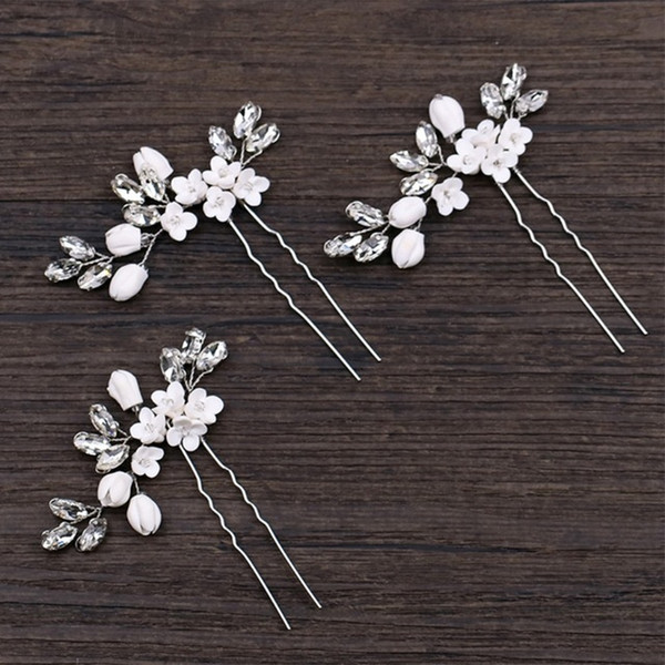& Accessories Bride Hairpins Wedding Luxury Decoration Headwear Floral Elegant Stick Hair Jewelry Jewelry & Accessories
