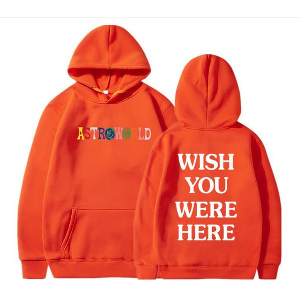 Astroworld Hoodie Mens High Quality Designer Fleece Sweatshirts Free Shipping Embroidery Hip Hop Pullover New Travis Hoodies 3pcs