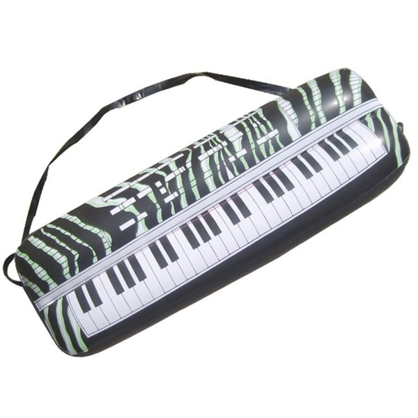 Inflatable Instruments Toy Electronic Organ Musical Decorative Balloons Instruments Toy for Kids Children