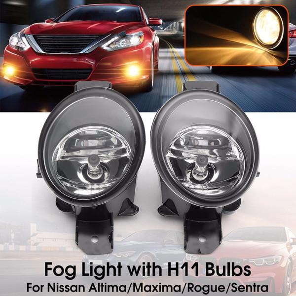 1 Paar Nebelscheinwerfer Für NISSAN Maxima Rogue Altima Sentra 2004-2013 Auto Stoßstange Lampe H11 Halogen Auto Styling Glühbirne Neue