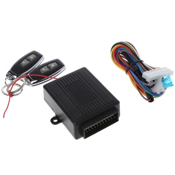 Universal Car Alarm Systems Zentralverriegelung mit 2 Fernbedienungen