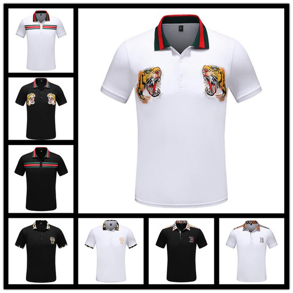 iduzi Italy Brand Brand New Arrived Polo Shirts Short Sleeves Men Classic Design Solid Color