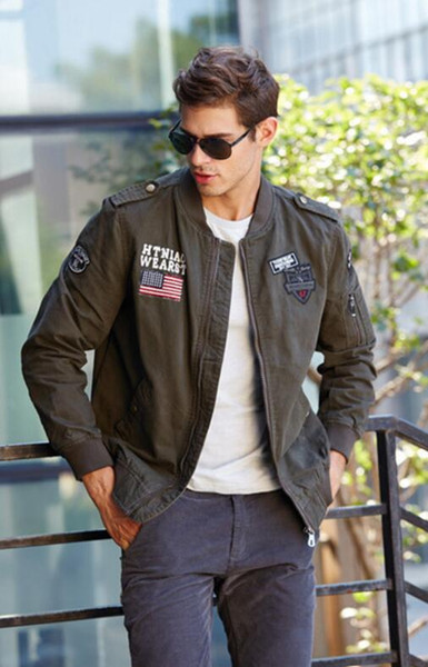 High quality2019 Winter Army Airborne Pilot Tactical Jacket Man Warm Military Jacket Coat Men's Thick Liner Air Force Cotton Jackets