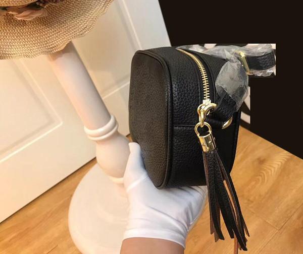bolso de la manera señoras del famoso diseñador de la marca de lujo borla de la alta calidad del bolso de hombro de las señoras con flecos bolsa de mensajero de las señoras de lichi