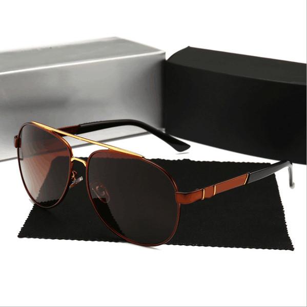 MercedesBenz 751 Óculos De Sol de Luxo Mulheres Designer de Moda Rodada Estilo Verão Cor Mista de Alta Qualidade Lente de Proteção UV Vem Com o Caso