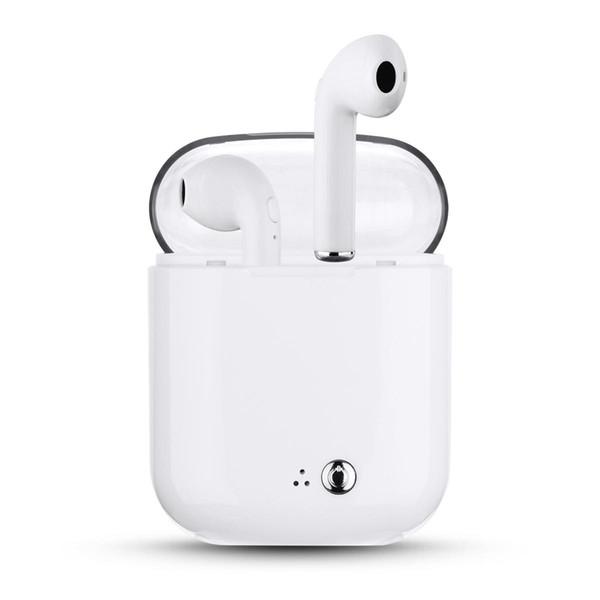 I7S Plus TWS Auriculares inalámbricos Auriculares Bluetooth Auriculares intrauditivos portátiles para Apple iPad Android Auriculares inalámbricos y estuche de carga