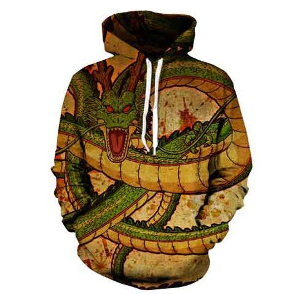 Z 3D Hoodie Sweatshirts Men Women Hoodie Muscle Anime Fashion Casual Tracksuits Boy Jackets Hooded Pullover GOKU 4xl