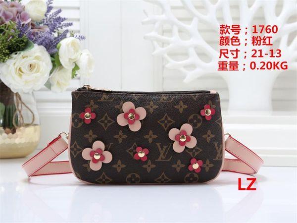 2019 New styles Handbag Fashion Leather Handbags Women Tote Shoulder Bags Lady Leather Handbags Bags purse Wallet LZ 1760