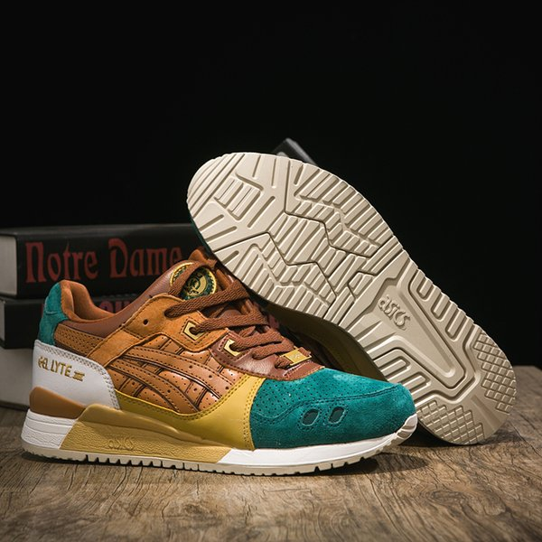 Best Quality Asics x Beams Gel Lyte III Men Women Running Shoes Wholesale Designer Walking Sport Shoes Trainers US 4-10