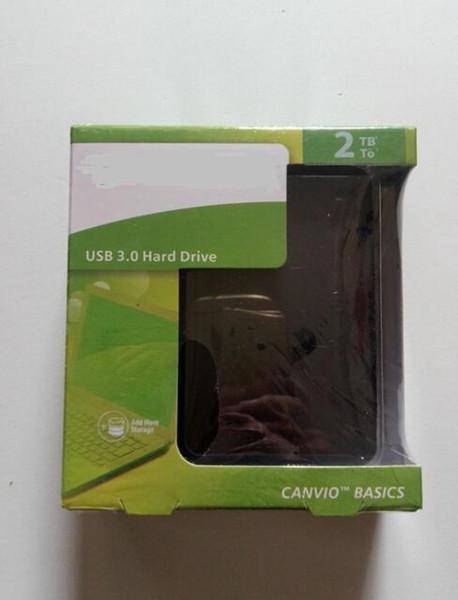 Горячие продажи Бесплатная доставка 2 ТБ hdd externo портативный внешний жесткий диск