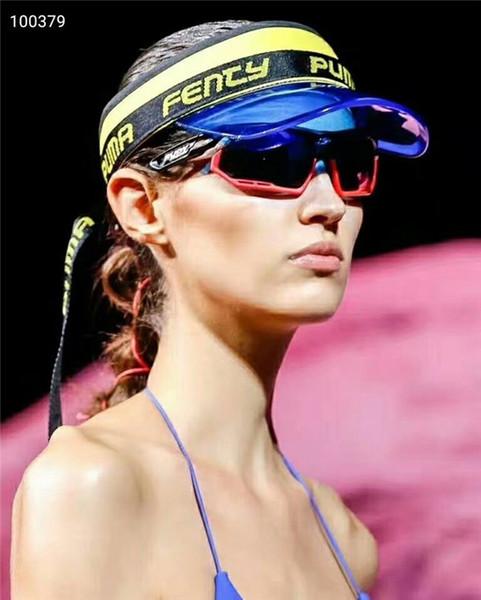 Viseira de sol sunvisor chapéu do partido tampa de plástico transparente transparente Pu chapéus de sol protetor solar chapéu de Tênis Praia elástica chapéus frete grátis