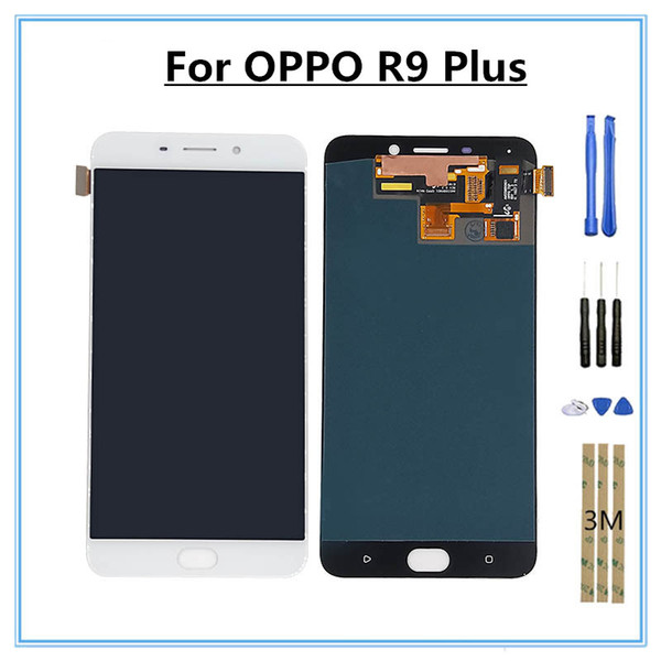 6.0-inch OPPO R9 PLUS mobile phone LCD touch screen digitizer component replacement parts to send a set of repair tools