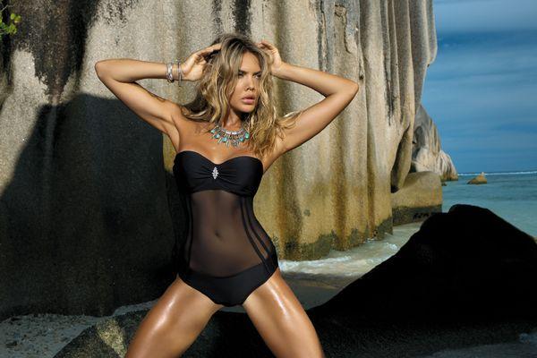 2019 Sexy Patchwork Color Swimwear One Piece Swimsuit for Women Summer Beach Swim Wear Female Mesh Monokini Bathing Suit Lady Beachwear