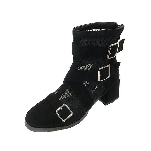 LTARTA 3-5cm High AMartin's Boots In Summer Boots Women Women Shoes PU Leather JXQ-708-2