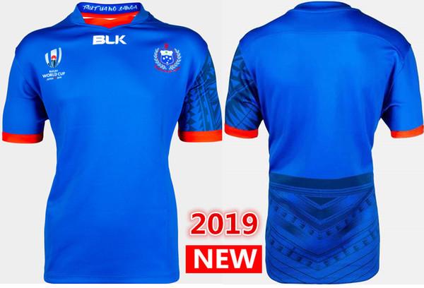 Hot vendas 2019 Japão World Cup Samoa casa Rugby Jerseys camisa da Liga de Rugby camisa de união Samoa camisas s-3xl