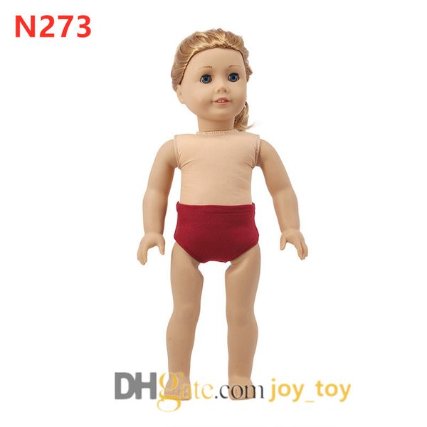 """18/""""Doll Kids/' Toy Doll Diaper Underwear Underpants Clothes Accessories Baby Gift"""