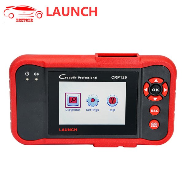 LAUNCH CRP129 Car Code Reader Support ENG/TCM/ABS/SRS System Diagnosis OBD2 Diagnostic Tool for Multi car models free Update