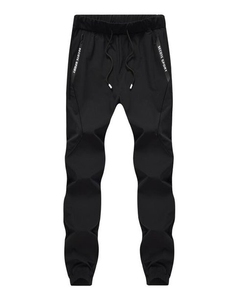 Under Armour Hot Side Pockets Pencil Pants Men's Hip Hop Patchwork Cargo Ripped Sweatpants Joggers Trousers Male Fashion Full Length Pant