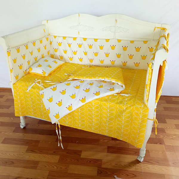 Baby quilt Newborn Quilt set Cushion Bumpers Duvet Cover baby crib Crib cotton set 140*70cm BWZ019