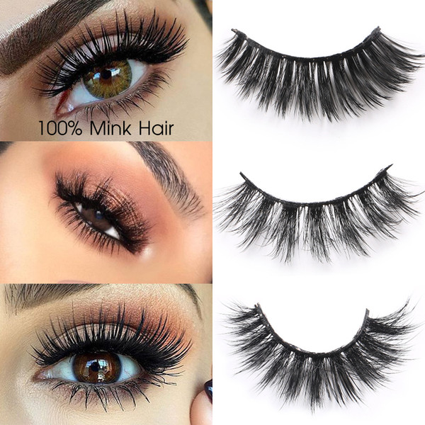 6 Boxes/lot 3d Mink Eyelashes Extensions Long Natural Mink False Eyelashes Hand Made Full Strip Eye Lashes Fake Eyelashes Makeup