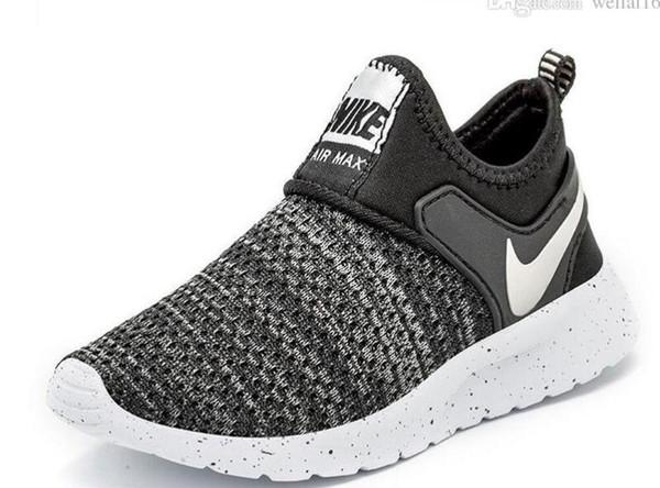 2019 Yeni Satış Boost Çocuk Basketbol Ayakkabıları Rahat Spor Ayakkabı Erkek Ve Kız Marka Sneakers Yüksek Kalite Çocuk Açık Koşu Ayakkabısı B7