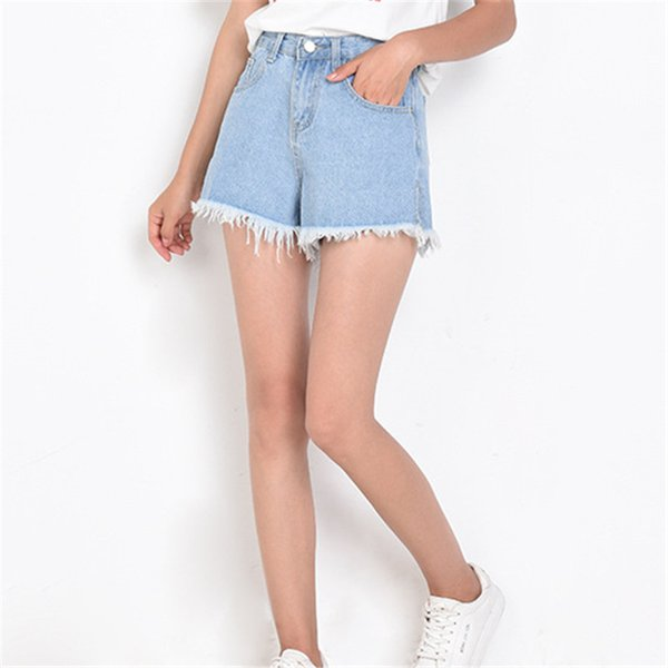 Casual Sexy Pantalones cortos Mujer Jeans Moda Vintage Mid Femme Pantalones 187 #