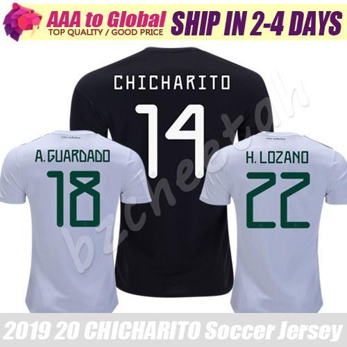 Top CHICHARITO jersey 2020 Camiseta Mexican football shirt CARLOS RAUL M.LAYUN VELA H.LOZANO SOCCER JERSEY Thai Quality Maillot de foot