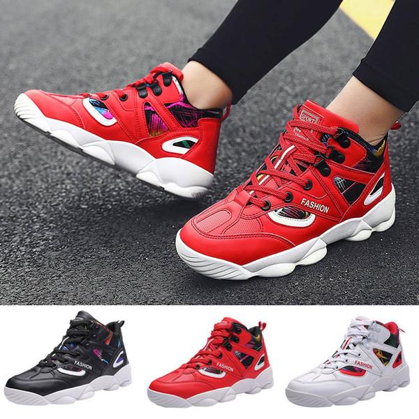 Çift Moda Sneakers Yüksek Ayakkabı Karışık Renkler Dayanıklı Ayakkabı Giymek Nefes Bisiklet Kadın / Erkek Sneakers