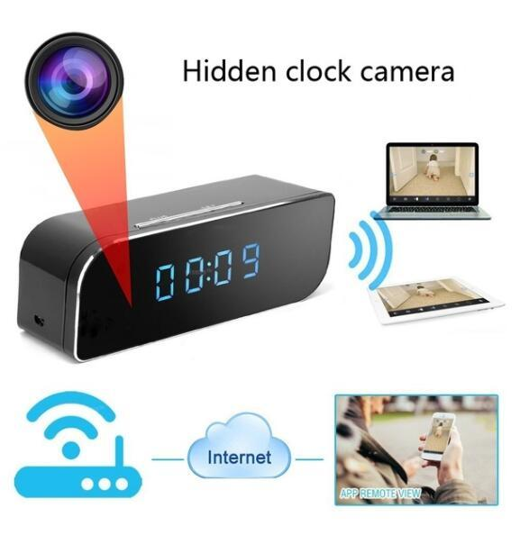 Full HD 1080 P Wi-Fi Будильник Камеры Главная Безопасность Защита Движения Безопасность ИК Камера Няня Ночного Видения IP-Камера