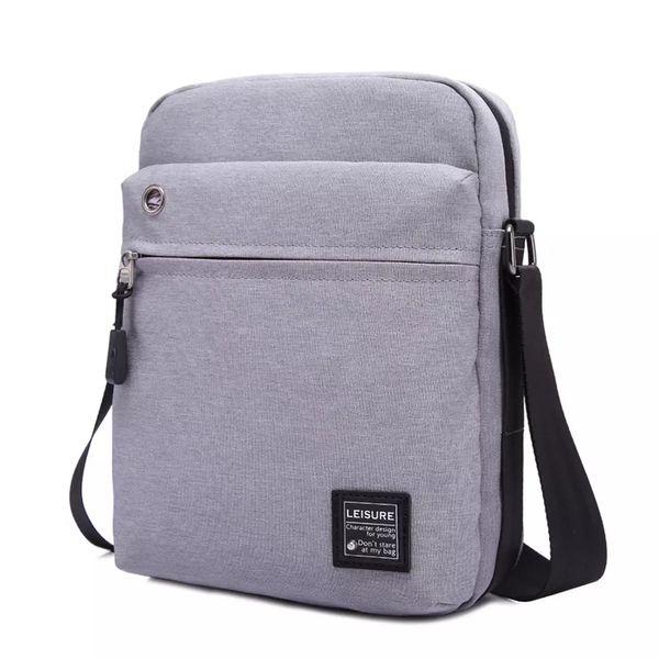 Casual Male bag New Business singolo sacchetto di spalla, sacchetto di modo Piccolo Satchel IPad Satchel uomo semplice