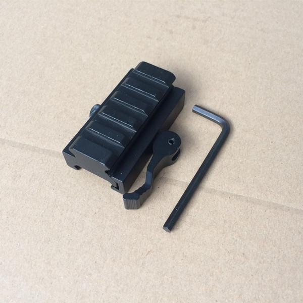 20 mm Picatinny/Weaver Rail Base 5 slots QD Quick Release Riser Scope Mount Adapter Sight Scope mount