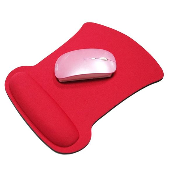 Nice Thicken Soft Sponge Wrist Rests Support Mouse For Optical / Trackball Mat Mice Pads Computer Durable Comfort Mouse Mat