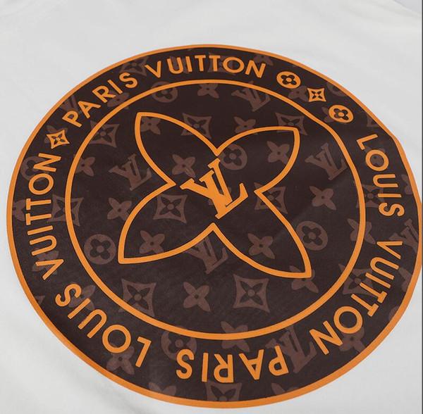 Foto reale camicia di marca digitale stampa spruzzo diretto importati caldo timbratura frontale orso e camicie ricamo di nuovo ad alta densità