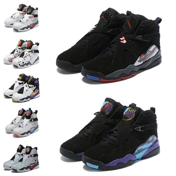 2019 nike air jordan retro 8 sneakers StockX stock x shoes Trainers Platform Casual Men Women sneakers.
